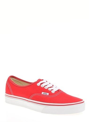 Vans Authentic Ayakkabı Kırmızı